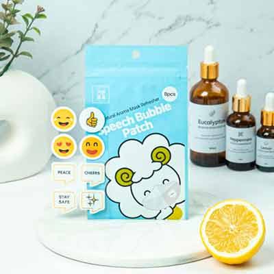 free speech bubble aroma mask patch - FREE Speech Bubble Aroma Mask Patch