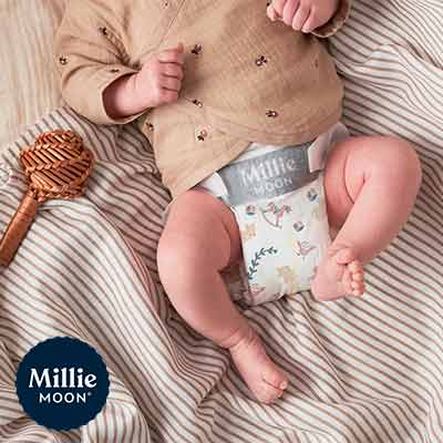 free millie moon luxury diapers sample - FREE Millie Moon Luxury Diapers Sample
