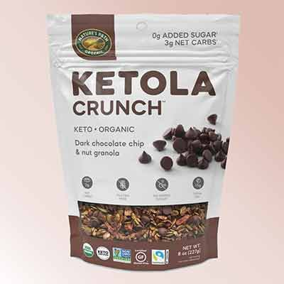 free natures path ketola crunch dark chocolate chip nut granola - FREE Nature's Path Ketola Crunch Dark Chocolate Chip & Nut Granola
