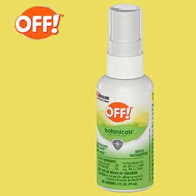 free off botanicals 2oz spritz sample - FREE OFF! Botanicals 2oz Spritz Sample
