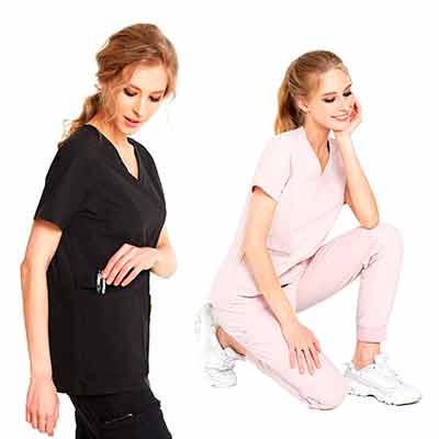 free v neck sorona scrubs set for women - FREE V-Neck Sorona Scrubs Set for Women