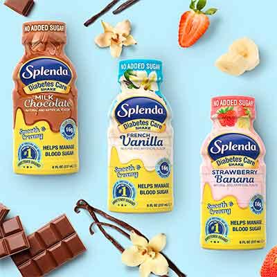 free 6 pack splenda diabetes care shakes - FREE 6-Pack Splenda Diabetes Care Shakes