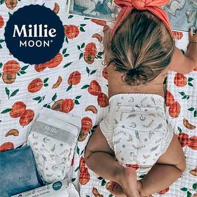 free millie moon luxury diapers sample 2 - FREE Millie Moon Luxury Diapers Sample