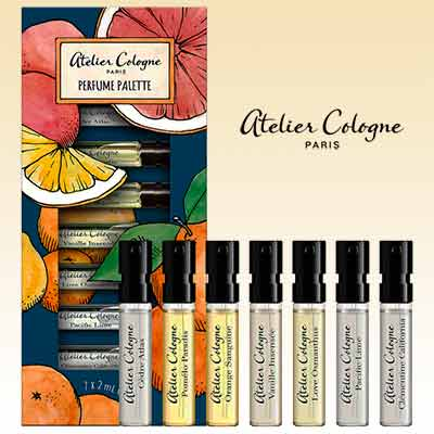free atelier cologne perfume palette discovery set - FREE Atelier Cologne Perfume Palette Discovery Set