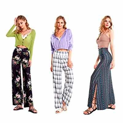 free noflik women wide pants and long maxi skirts - FREE noflik Women Wide Pants and Long Maxi Skirts